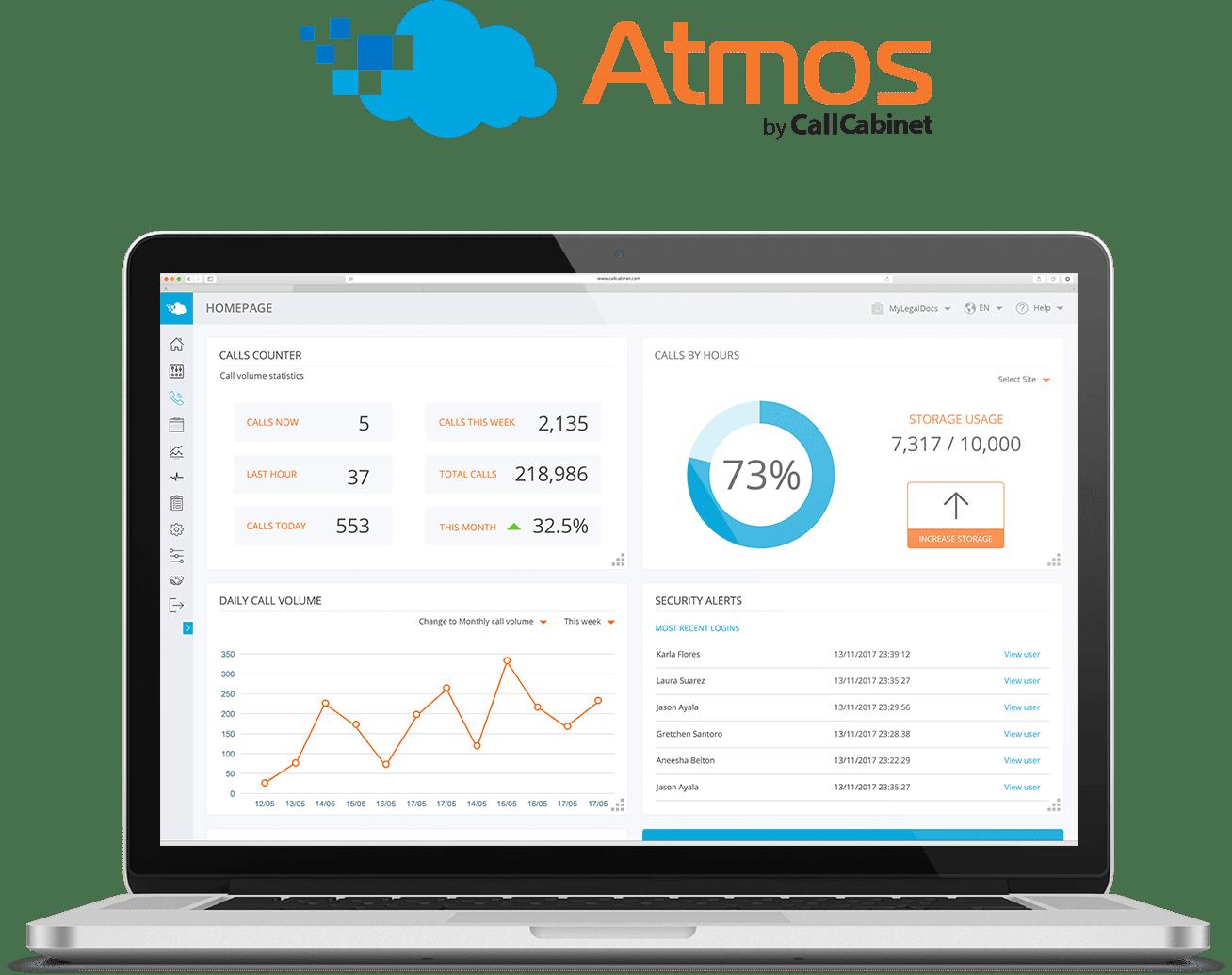 Atmos call recording software